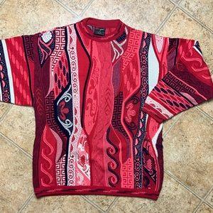 Vintage Bergati COOGI Style Sweater Rare Coloway